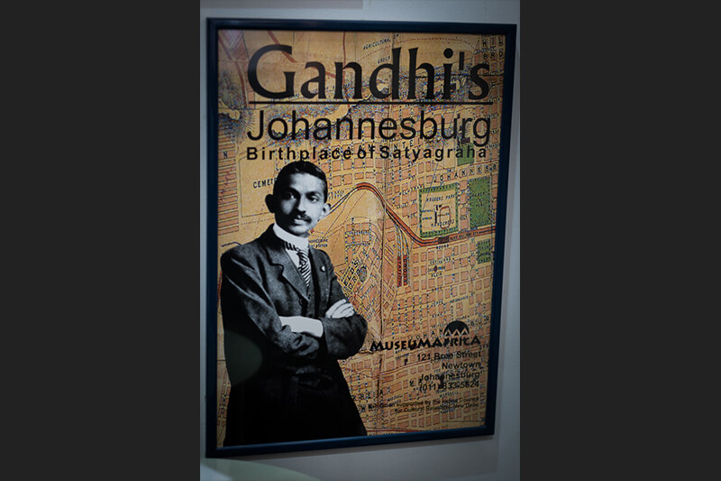 gandhis-johannesburg poster for the gallery